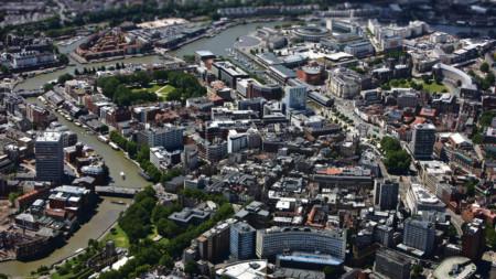 Bristol birdseye view