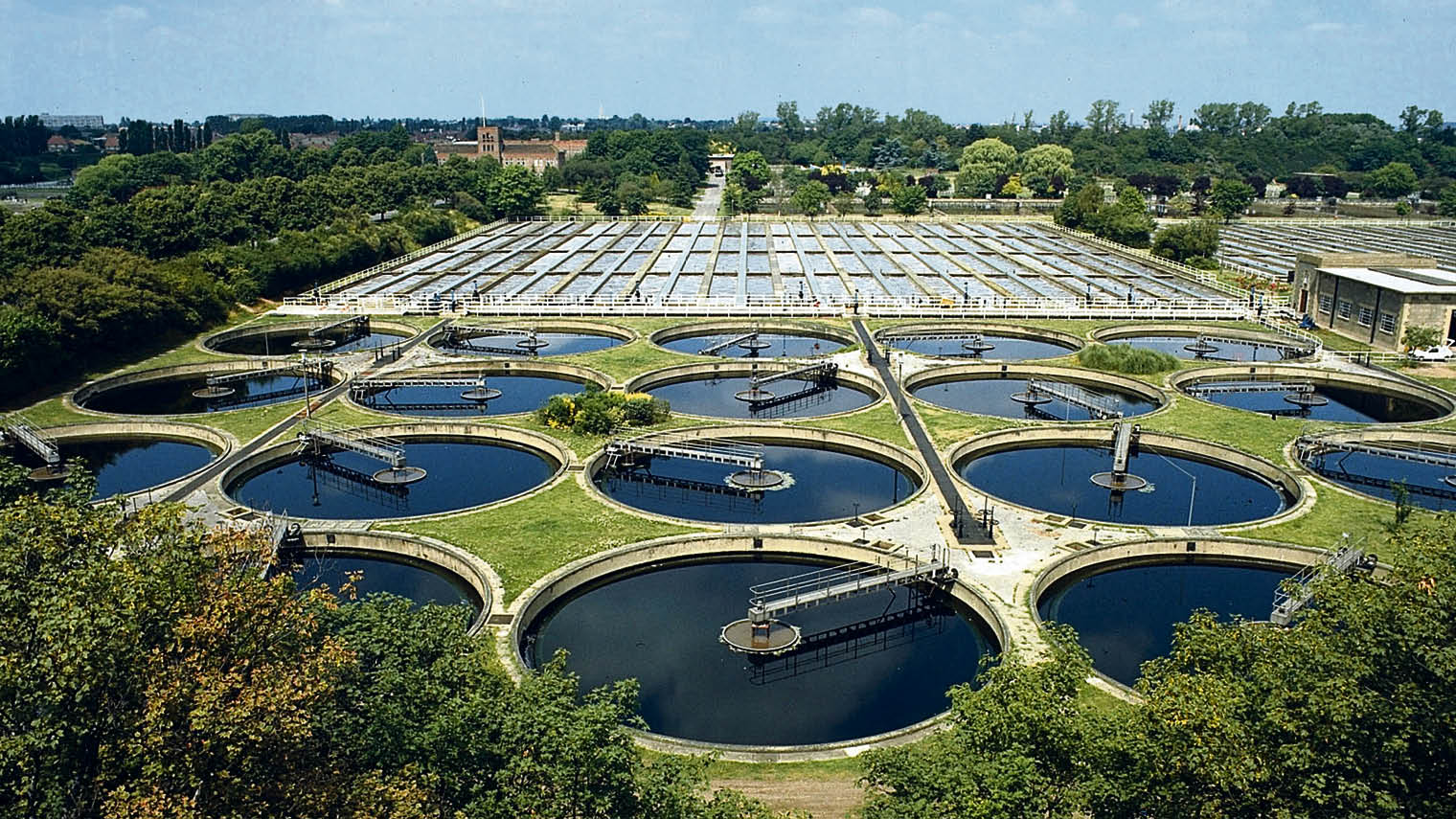 Wastewater cleaning facilities