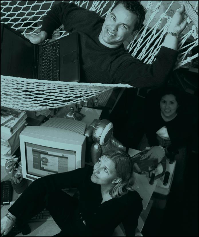 office fad - hammocks