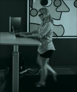 Office fad - treadmill desks