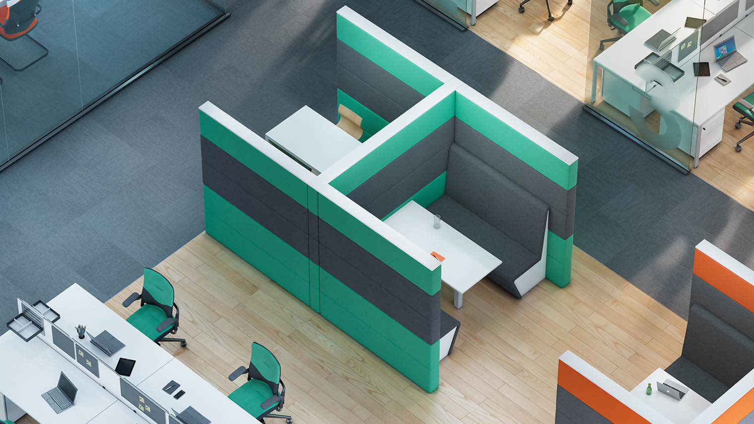 office design that boosts workplace wellbeing