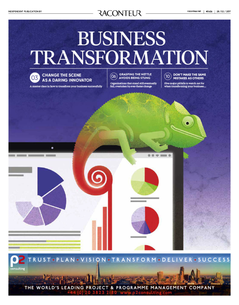 Business Transformation cover