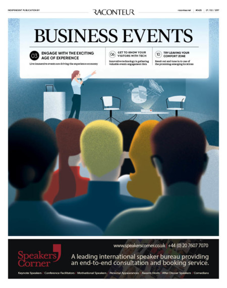 Business events cover