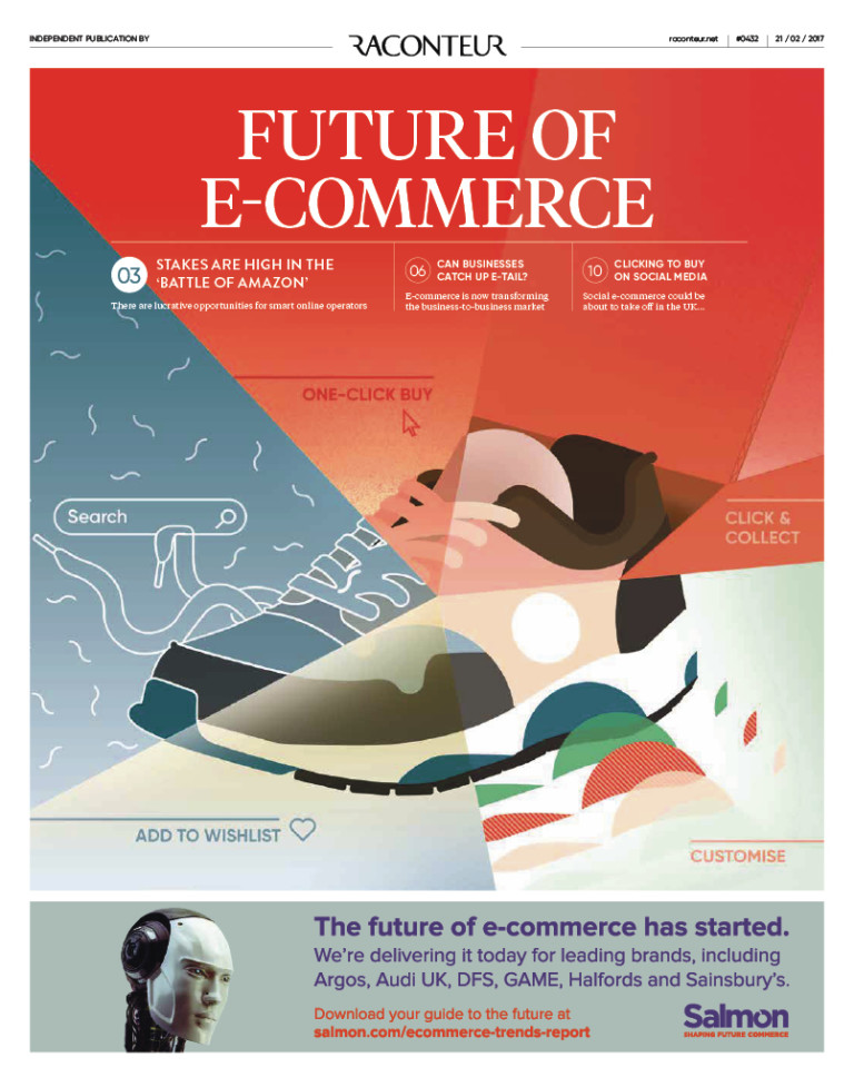 the future of electronic commerce The future of e-commerce and online business 106  accounts are some of the services which surely be in demand to support this e-commerce trend in the.