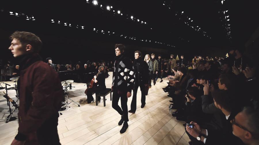 Catwalk during fashion week