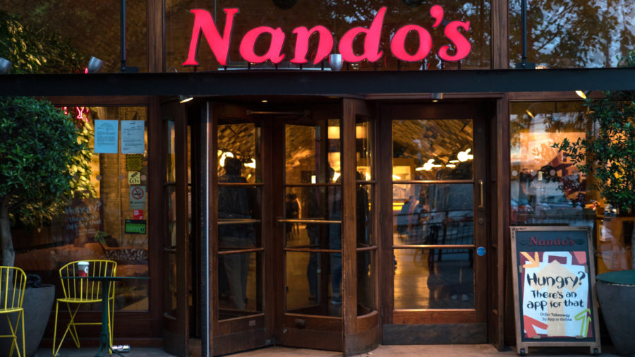 Front of Nando's store, Supply chain issues