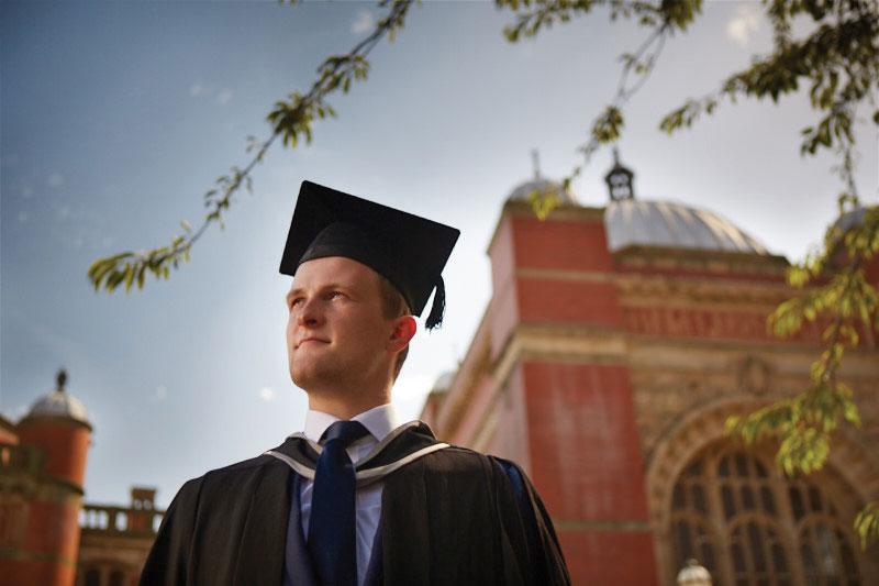 Graduating student of University of Birmingham