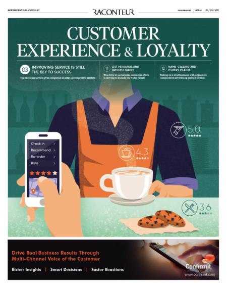 Customer experience and loyalty cover