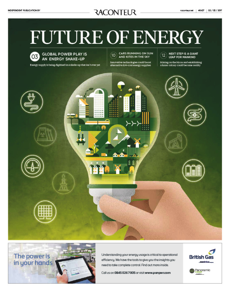 Future of energy cover