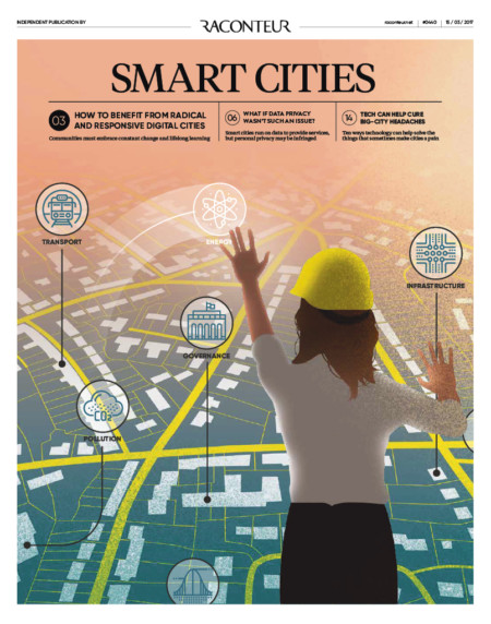 Smart cities special report cover