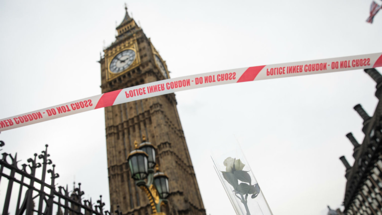 Big Ben in London attacks 23rd March 2017