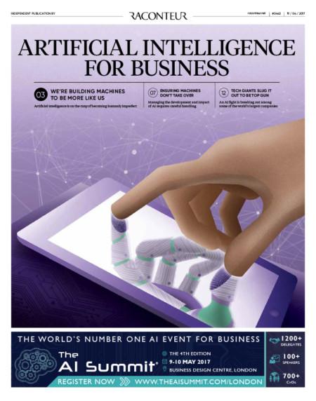 AI business cover