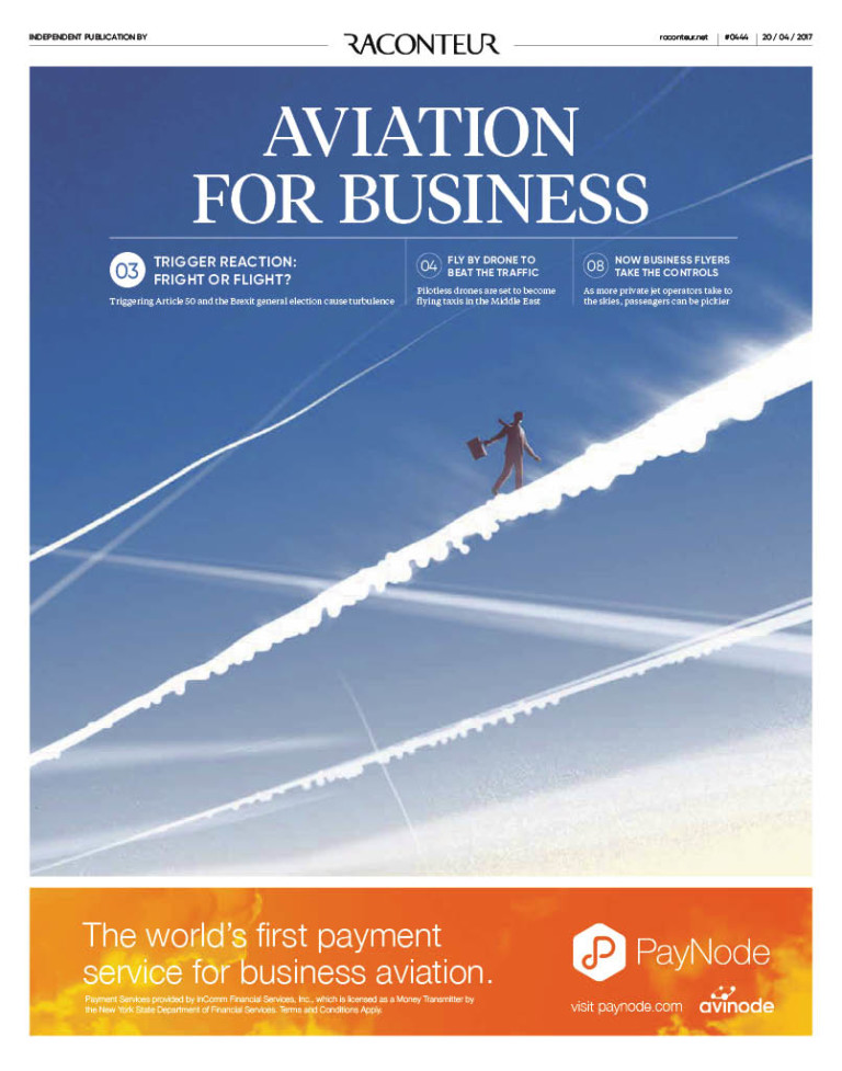 Aviation for Business SR cover