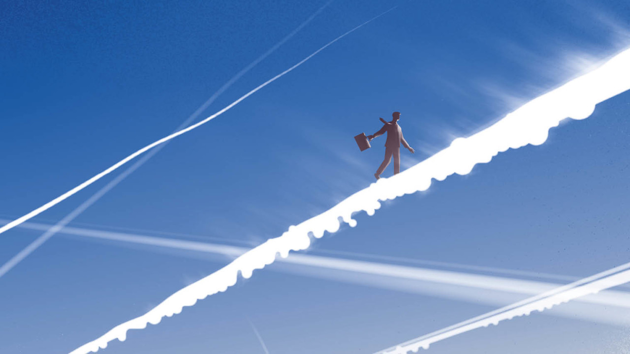Aviation for Business illustration