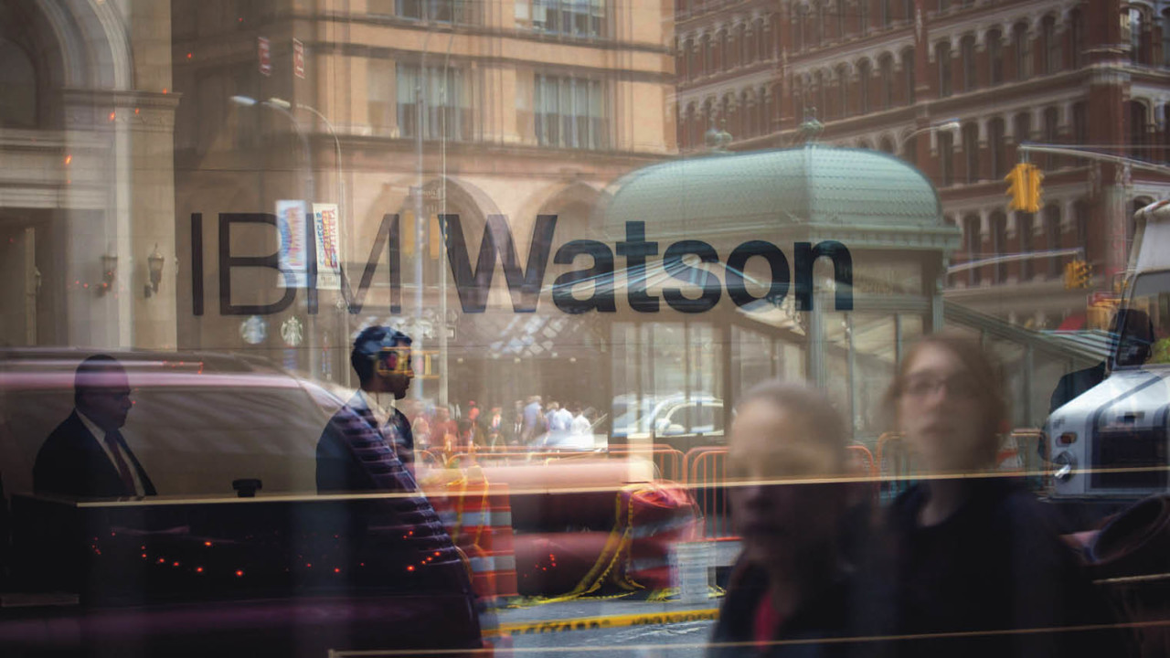 IBM has been an early-mover in the cognitivecomputing market with Watson