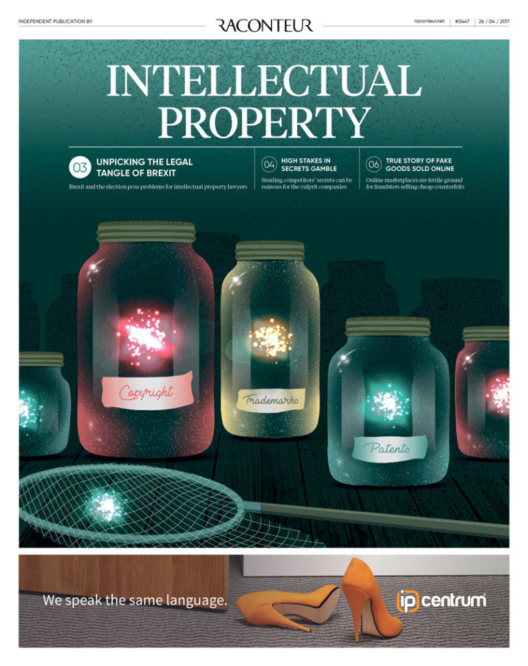 Intellecutal Property special report cover