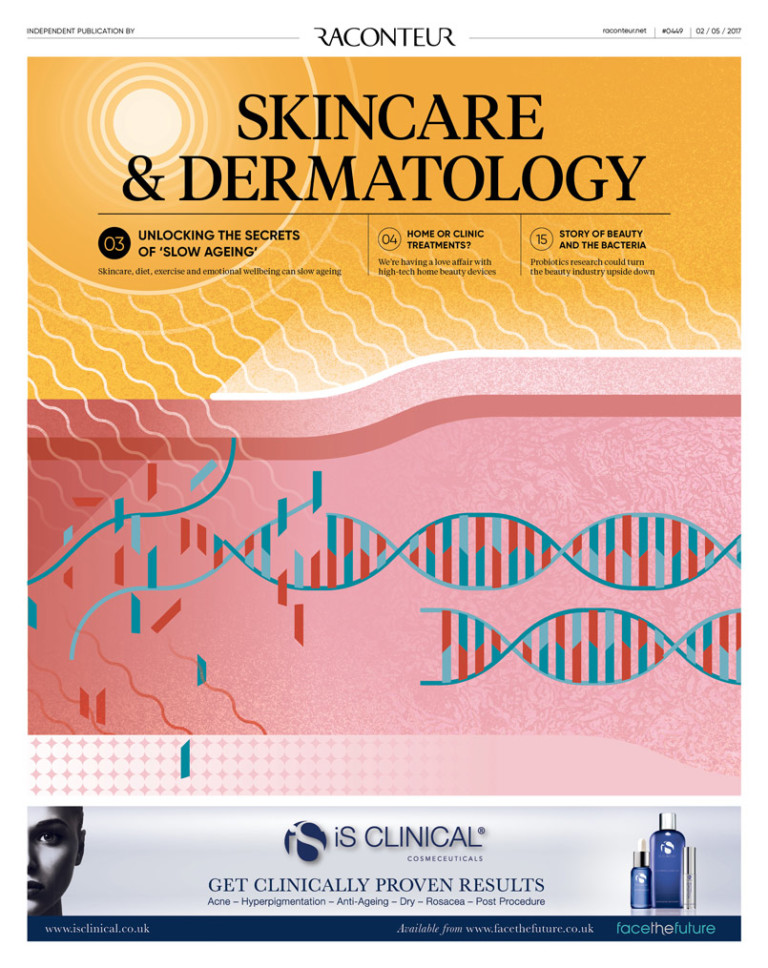 Skincare and dermatology cover