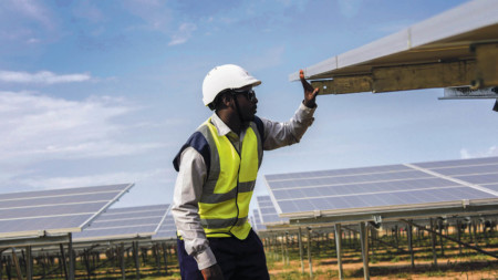 Access Power's solar plant in Uganda's Soroti District, producing 50GW a year, is the largest of its kind in East Africa