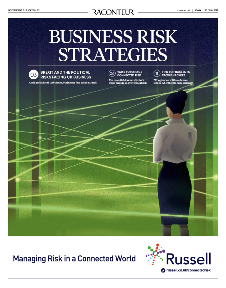 Business Risk Strategies special report cover