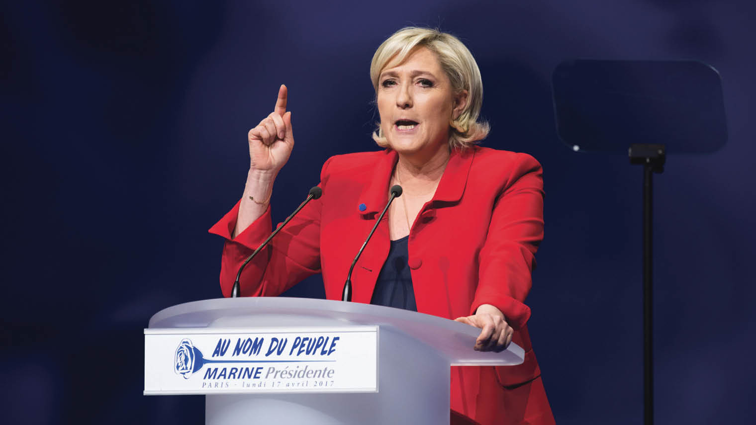 French presidential candidate Marine Le Pen lost this month's election by far more than forecast