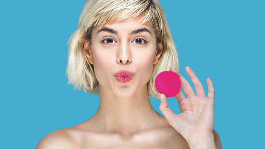 The LUNATM play by FOREO is a smaller, lower- priced entry- level version of the company's larger sonic facial cleansing device