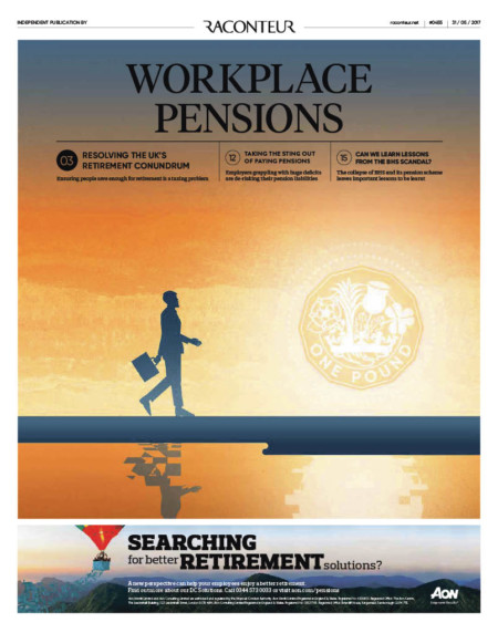 Workplace pensions cover