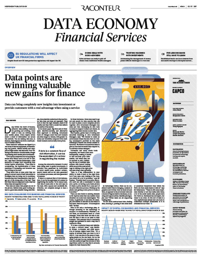Data Economy Financial Services Special Report