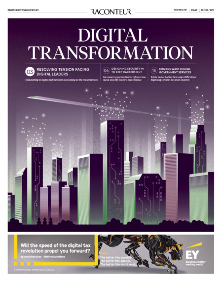 Digital Transformation Special Report cover