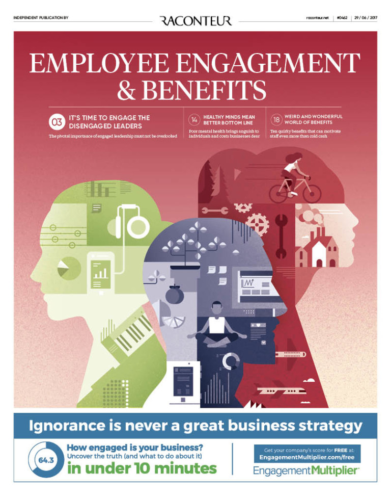 Employee Engagement and Benefits special report cover