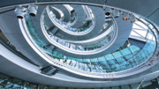 Spiral office staircase