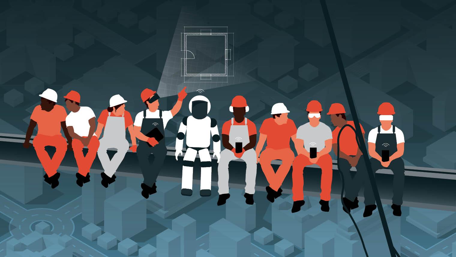 Future of Construction illustration
