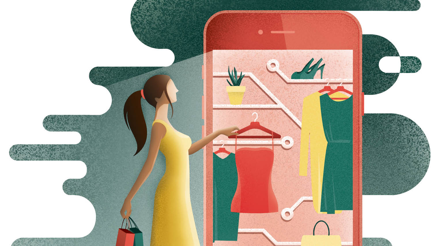 Illustration of ethical commerce