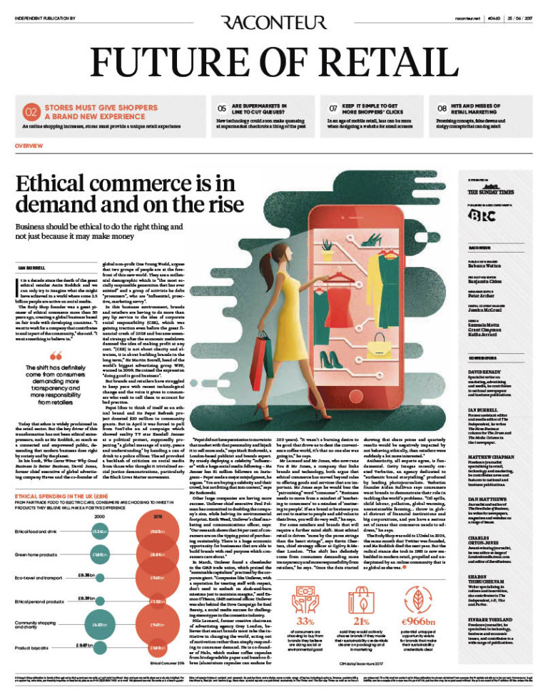 Future of Retail Special Report cover