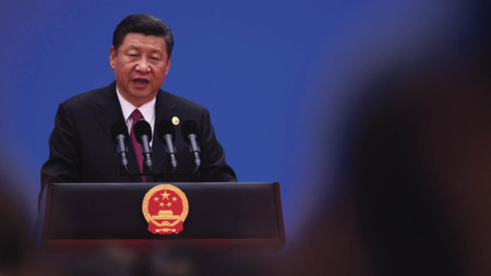 President Xi Jinping says China's Belt and Road initiative will bring about a new golden age of globalisation