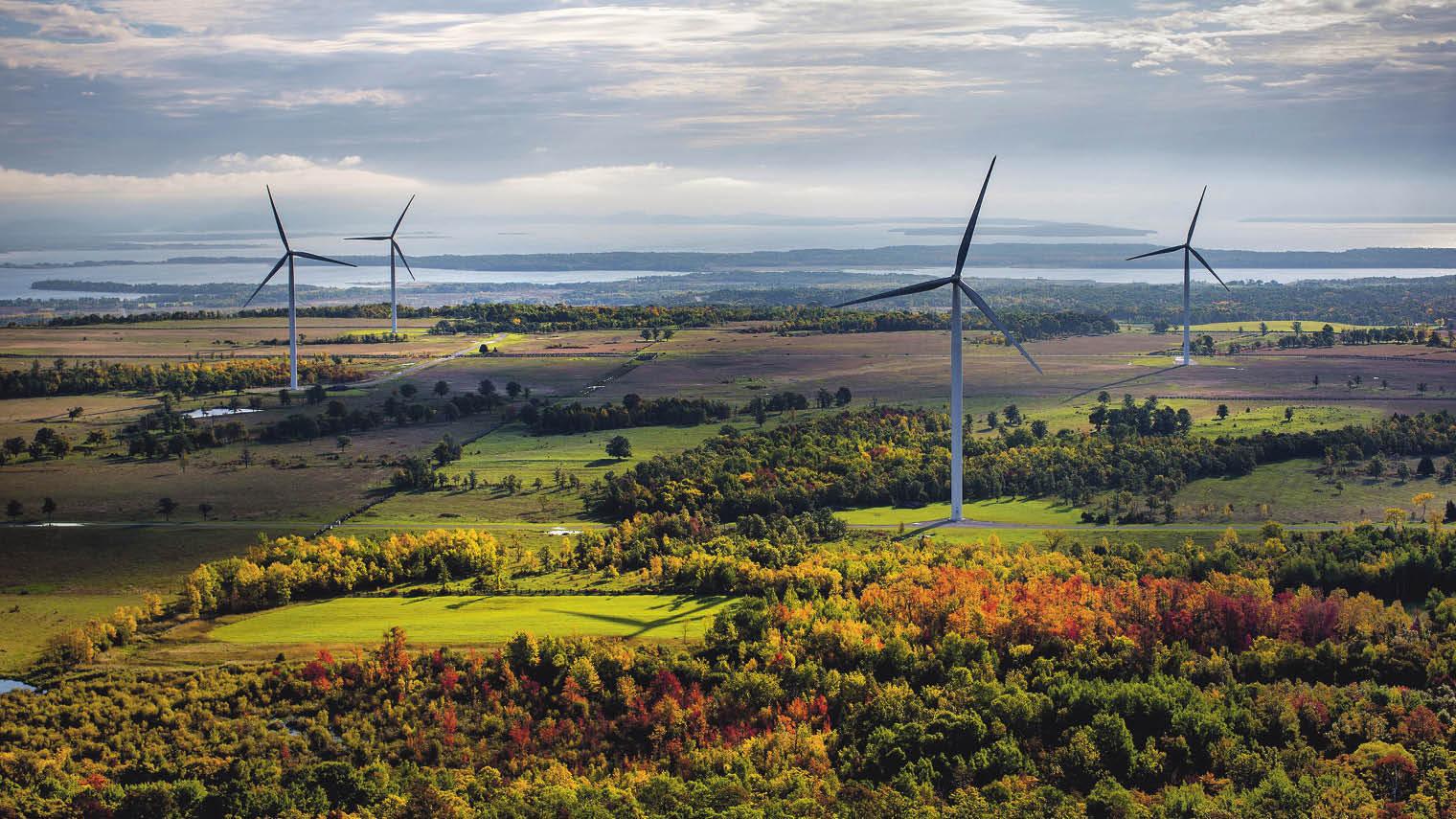 Real windfarms - digital twinning