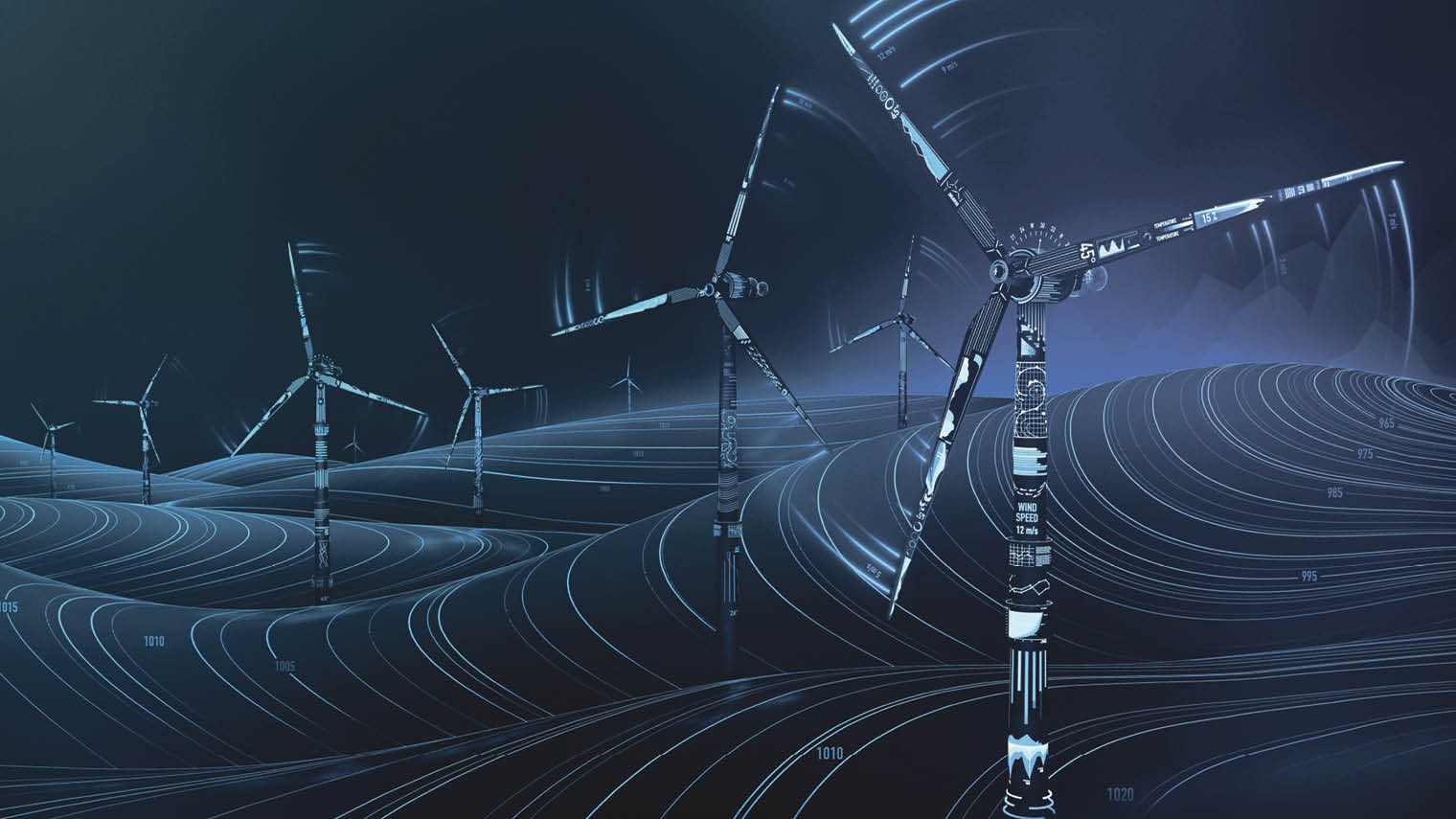 Windfarms digital version