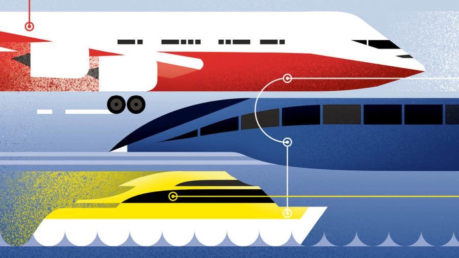 Future of Transport illustration