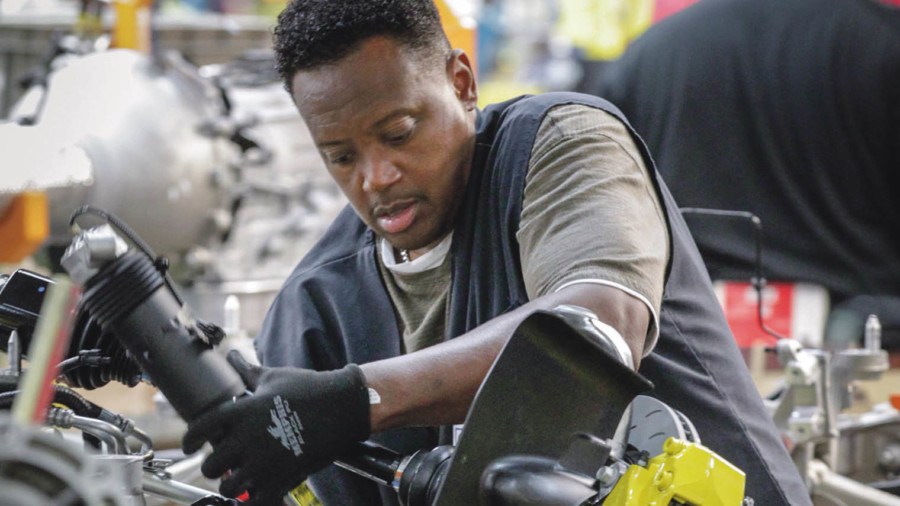 General Motors works with more than 400 certified diverse suppliers and small businesses in North America; its supplier diversity programme dates back to 1968