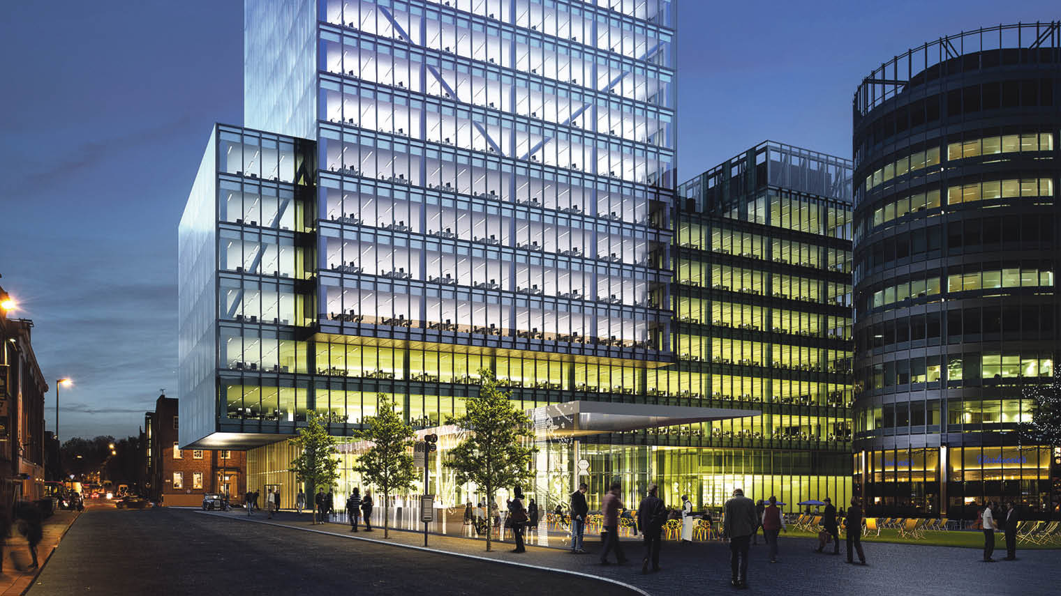 No 1 Spinningfields, said to be the highest specified and largest new office building in Manchester