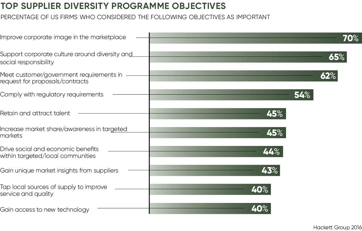 TOP SUPPLIER DIVERSITY PROGRAMME OBJECTIVES