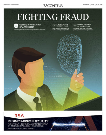 Fighting Fraud special report cover