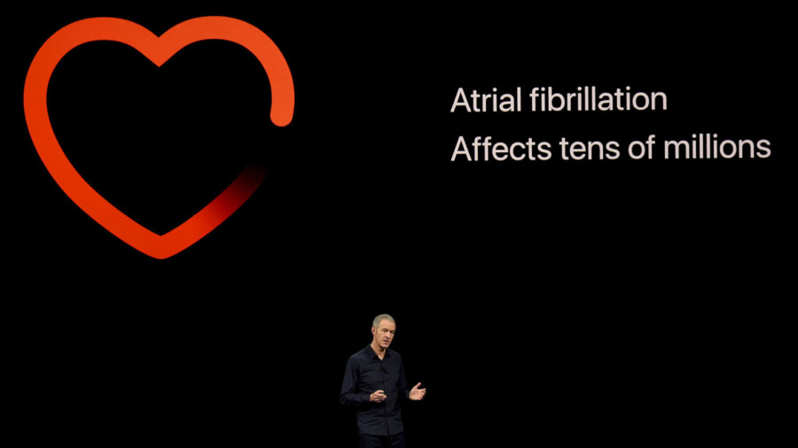 Apple Watch heart-tracking launch