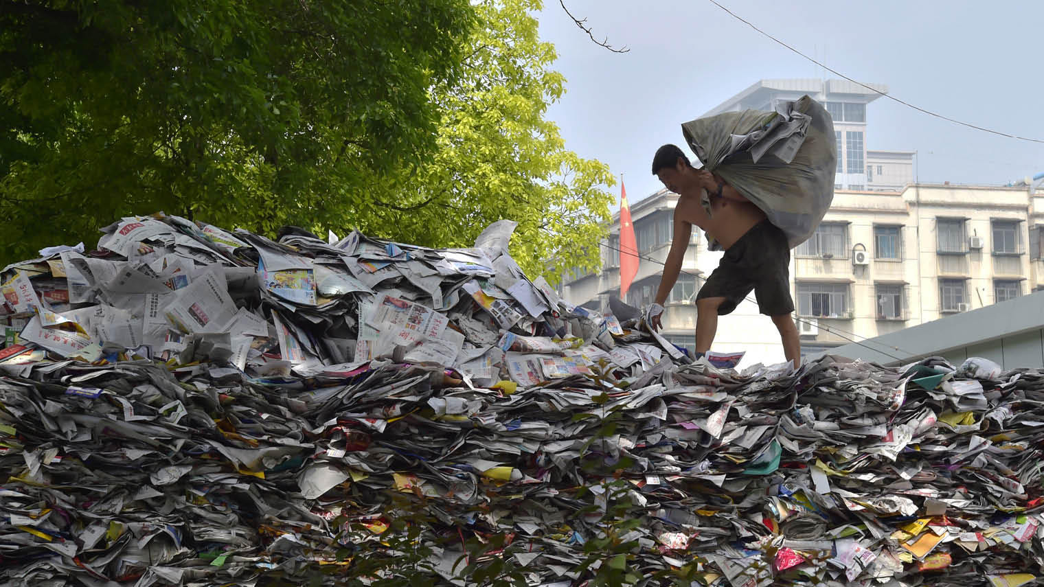 China is trying to clean up its image by tackling poor-quality and contaminated imported material for recycling