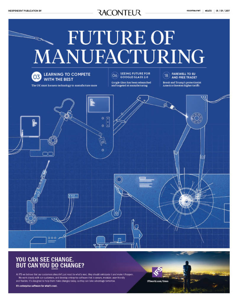 Future of manufacturing special report cover