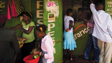 M-Pesa, Vodafone's mobile money service, has been hugely popular in countries such as Kenya, but hasn't taken off in South Africa where there is a much deeper banking infrastructure
