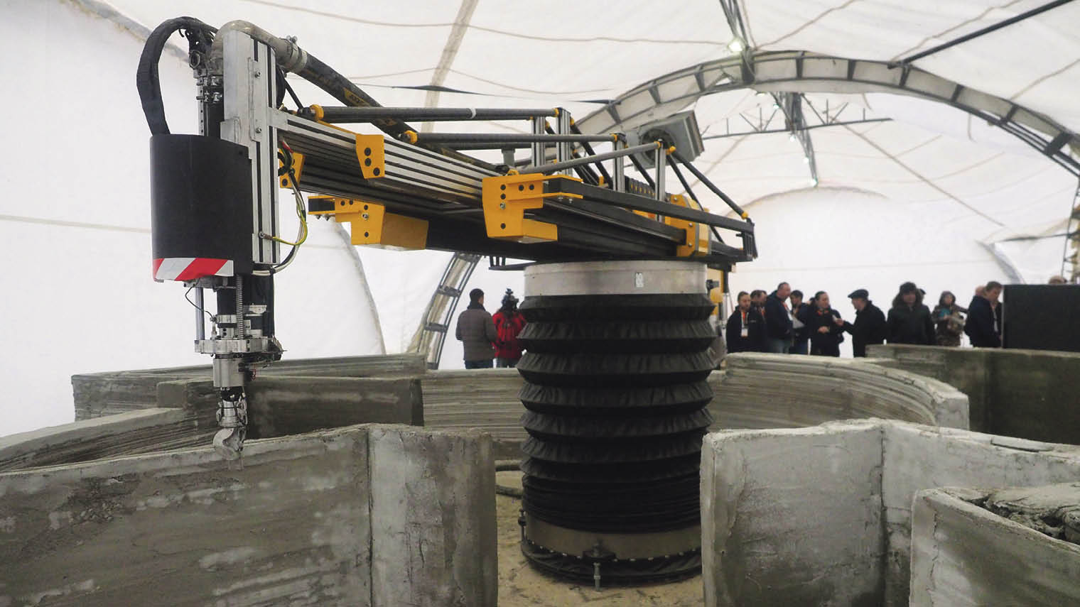 Russian rm Apis Cor is able to print a 400sq-ft concrete house in just 24 hours with no wastage