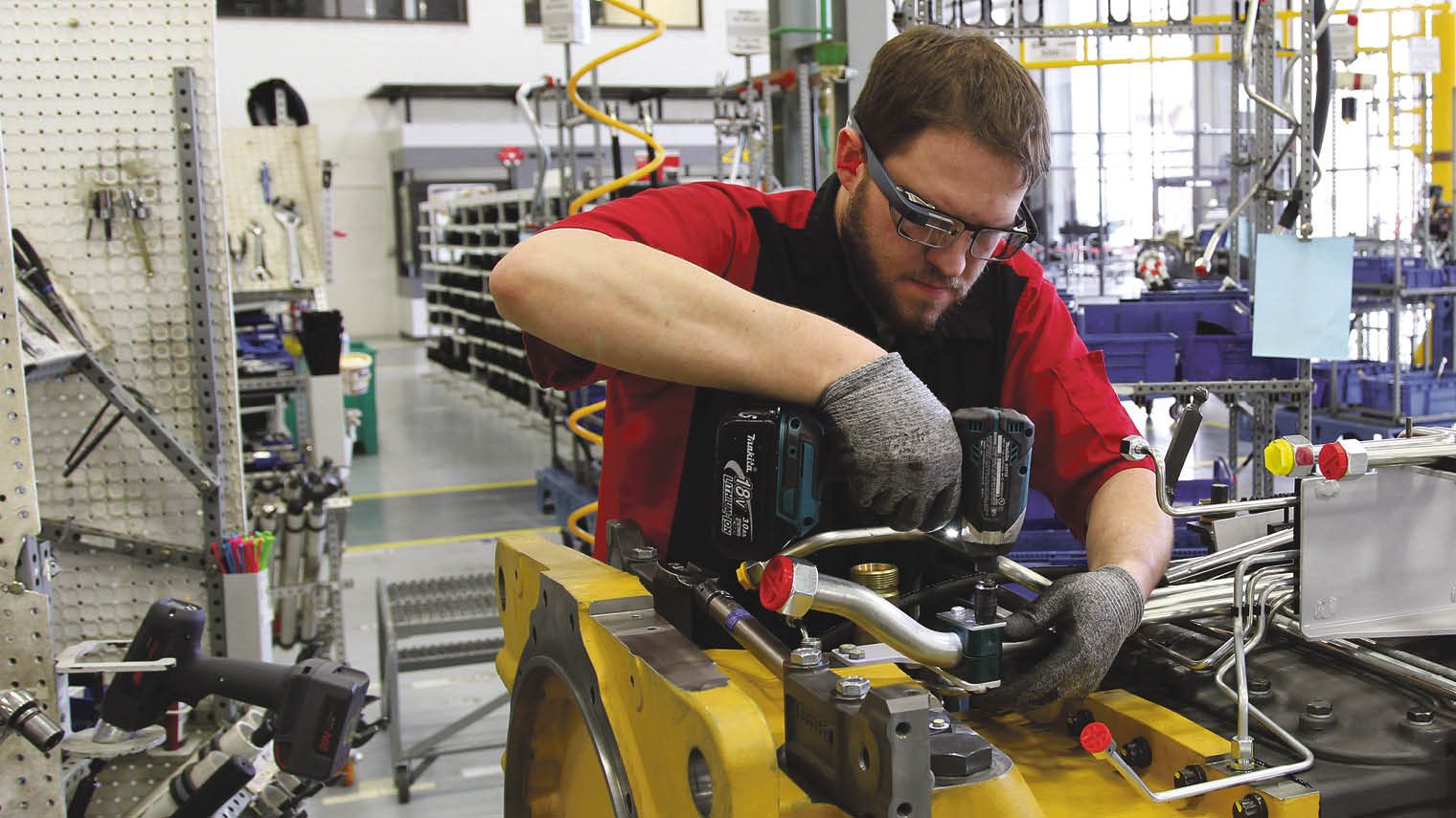 Workers at agricultural equipment manufacturer AGCO use Google Glass Enterprise Edition to view assembly instructions, make reports and get remote video support