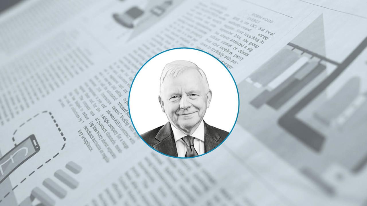 Chris Loughlin, chairman British Water