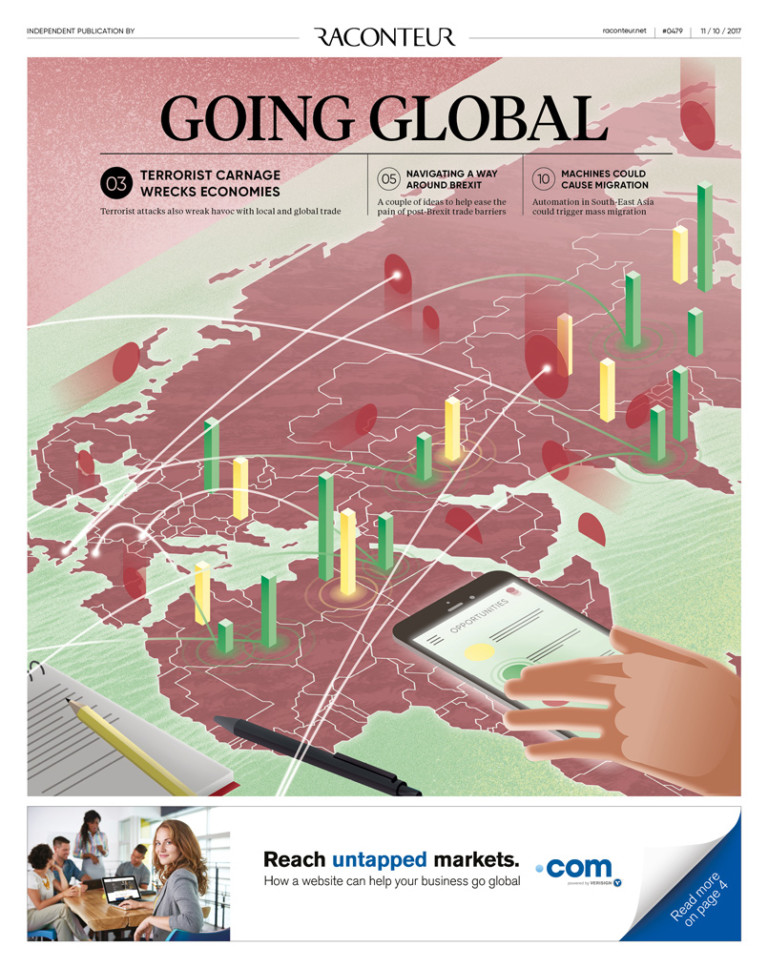 Going Global Special Report Cover