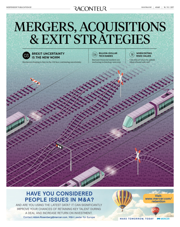 Mergers, Acquisitions & Exit Strategies special report cover